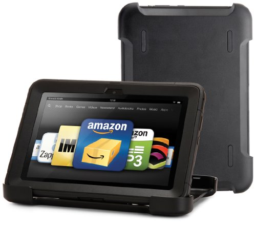 OtterBox Defender Series Protective Case for Kindle Fire HD 8.9&quot;, Black (with built-in screen protection)