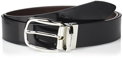 Bruno-Magli-Mens-Italian-Leather-Reversible-Belt-With-Rounded-Buckle