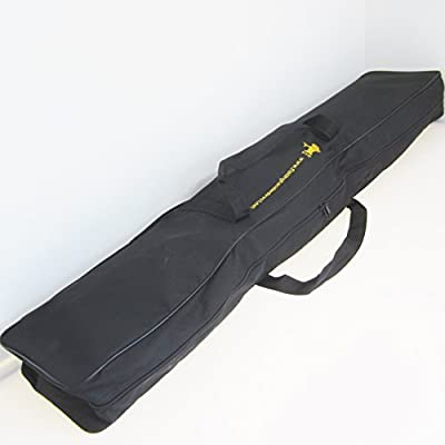 FTD Sectional Fishing Rod & Reel Cordura Carry Bag 120cm - Big enough to contain a fully loaded tackle box by FTD