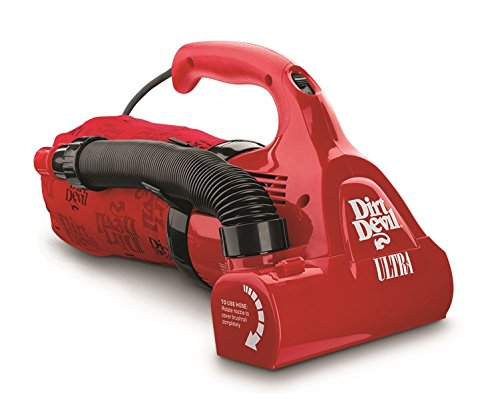 Dirt Devil Hand Vacuum Cleaner Ultra Corded Bagged Handheld Vacuum M08230RED (Dirt Devil Hand Vac Belt compare prices)
