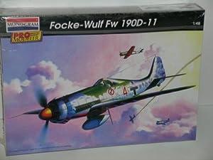 Monogram Pro Modeler WW II Focke-Wulf Fw 190D-11---Plastic Model Kit