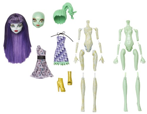Monster High Create-A-Monster Mummy-Gorgon Girl Starter Set