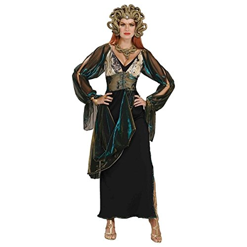 [GSG Medusa Costume Adult Halloween Fancy Dress] (Medusa Costumes Wig)