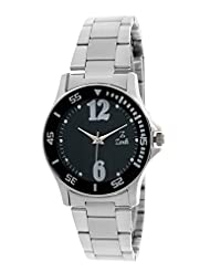 Zerk Up To The Minute Dial Analog Black Dial Women's Watch ZK-W85