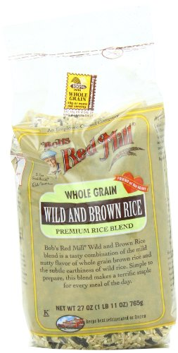 Bob's Red Mill Rice Wild/Brown Mix, 27-Ounce (Pack of 4)