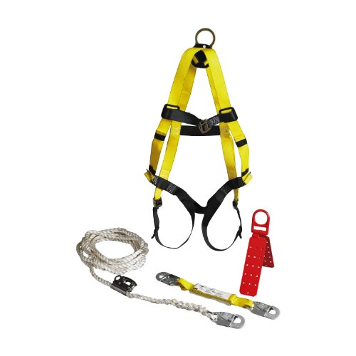 3M 94050-00000 Ansi/Osha Compliance Roofer'S Fall Protection Kit back-1002756
