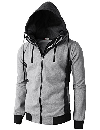 h2h-mens-fashion-high-neck-hoodie-zip-up-with-double-zipper-details-gray-us-m-asia-l-kmohol013