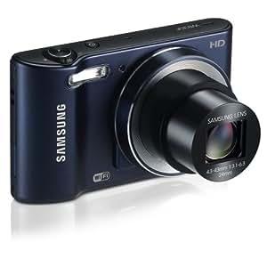 """Samsung WB30F Smart Wi-Fi Digital Camera, 16.2 Megapixel, 10X zoom, 3.0"""" LCD Display (Black)"""