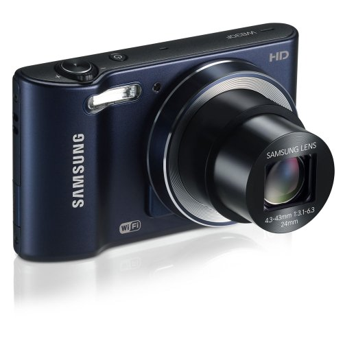 41Rh6tlGPiL Samsung WB30F Smart Wi Fi Digital Camera, 16.2 Megapixel, 10X zoom, 3.0 LCD Display (Black)