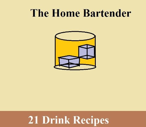 The Home Bartender PDF