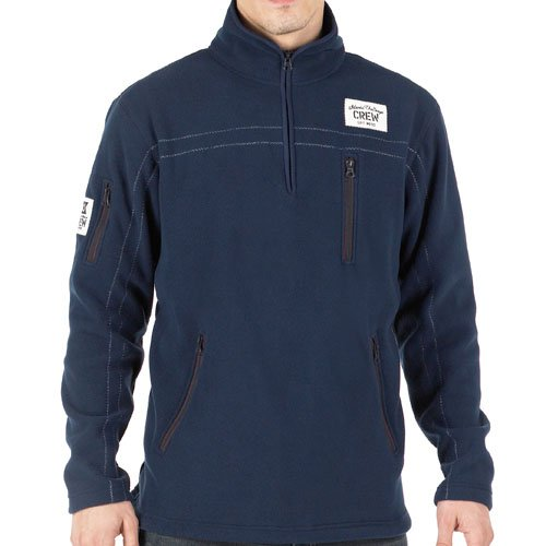 Crew Clothing Mens GBR Northam Fleece Navy