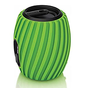 Philips SBA3011GRN/37 SoundShooter Portable Speaker (Green) from Philips