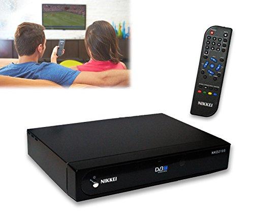 Ricevitore DVTB Nikkei NKD210 digitale terrestre doppia presa a scart per televisioni universale NIKKEI