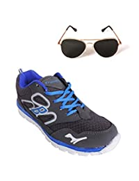 Elligator Sports Shoes With Lotto Aviator Sunglass - B00WSDSIS8