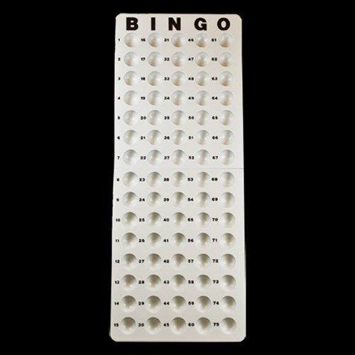 Plastic Bingo Masterboard - Used For Small Balls
