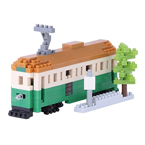kawada-nanoblock-nbh-102-melbourne-tram-micro-block-sights-to-see-puzzle-290-piece