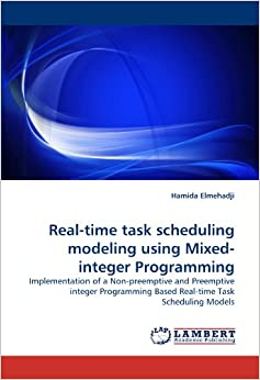 an integer programming model with time based Formulate this problem using an integer programming model and comment on the  (based on the stock  y 2 = 0 integer  and amend the work-time.