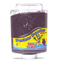 Purple Grape Pucker Powder Candy 9 Ounce Bottle