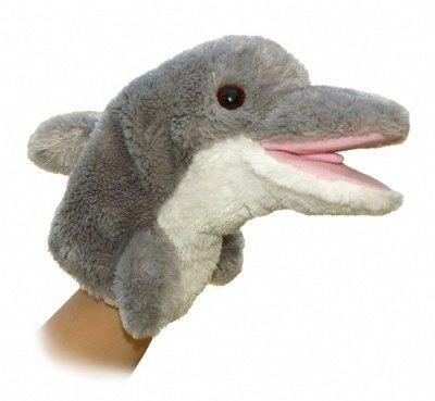 """Aurora World 10"""" Dolphin Puppet by Aurora World, Inc."""