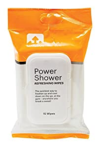 Nathan Power Shower Refreshing Body Wipes