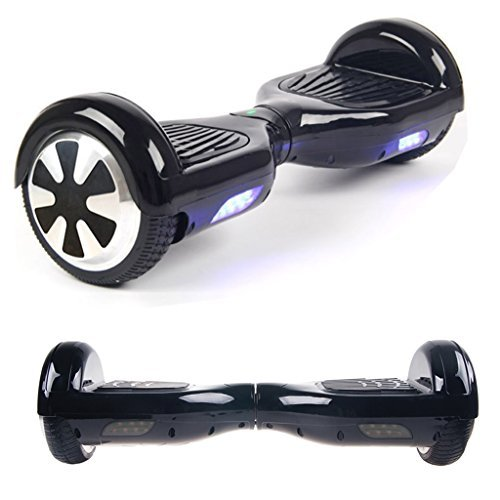 balance scooter Two Wheels Smart Self Balance Drifting Scooter Board Electronic Mini Unicycle Intelligent Monocycle Transporter (BLACK)
