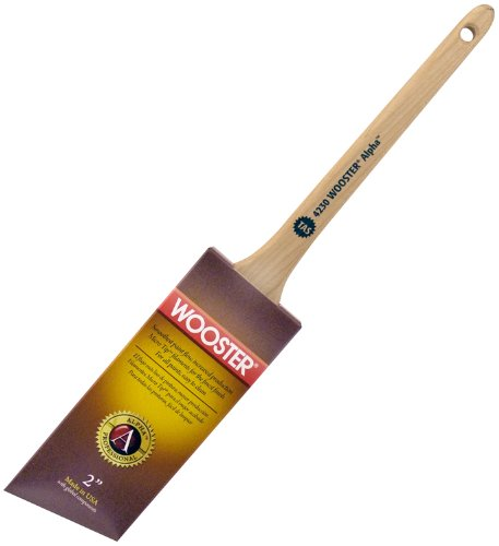 Wooster Brush 4230-2 Alpha Thin Angle Sash Paintbrush, 2-Inch