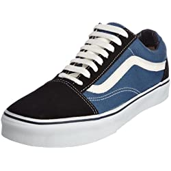 Vans U OLD SKOOL NAVY VD3HNVY - Zapatillas de lona unisex, color azul, talla 42