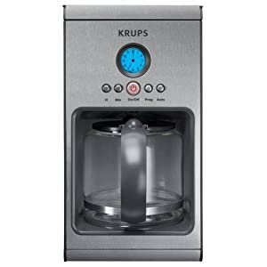 Krups KM1000 10-Cup Stainless-Steel Coffeemaker