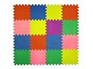 16 Piece Interlocking Puzzle Tile Exe…