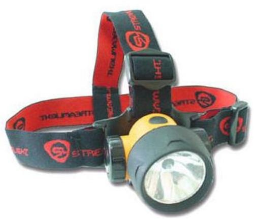 Streamlight 61050 Trident Super-Bright Led/Incandescent Combo Head Lamp