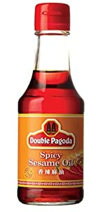 Double Pagoda Spicy Sesame Oil 5-ounce Bottle Pack Of 4 from Double Pagoda