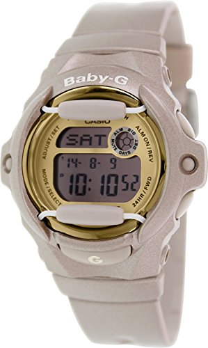 Casio Women's BG169G-4 Baby G Pink Champagne Watch