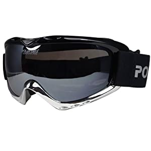 Polarlens PG9 Snow Goggles / Snowboard Goggles / Ski Goggles / Euopean Design and Performance / Helmet Compatible with Extra Long Adjustable Straps
