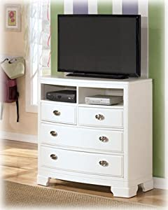 Contemporary white alyn bedroom media chest kitchen home for White media chest for bedroom