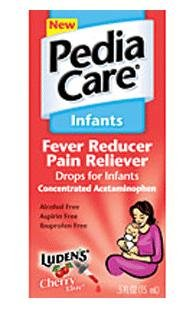 Pediacare  Fever Reducer Infants Drops Cherry, 0.5-Ounce (Pack of 2)