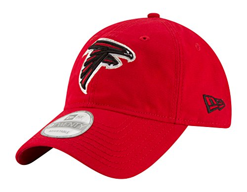 NFL Atlanta Falcons Core Shore Secondary 9TWENTY Adjustable Cap, One Size, Red (Atlanta Falcons Cap compare prices)