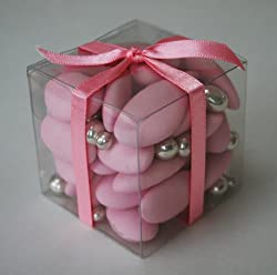 Rococo Wedding Favour: Sugared Almonds Cube