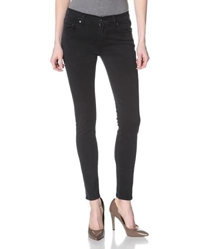 James Jeans Women's Twiggy Skinny Jean  - Navy Slate