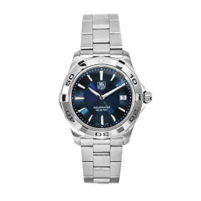 TAG Heuer Men's WAP1112.BA0831 Aquaracer Stainless Steel Blue Dial Watch