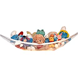 [Best price] Kids&#039 - Kidde Time Stuffed Animal and Toy Storage Hammock - An Affordable Solution to END ALL Your Stuffed Animal Clutter! - toys-games