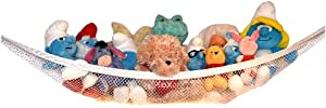 Stuffed Animal Hammock and Toy Storage Net by Kidde Time. The Easy Way to Declutter and Organize Your Child's Room