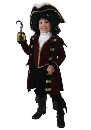 Big Boys' Deluxe Captain Hook Costume