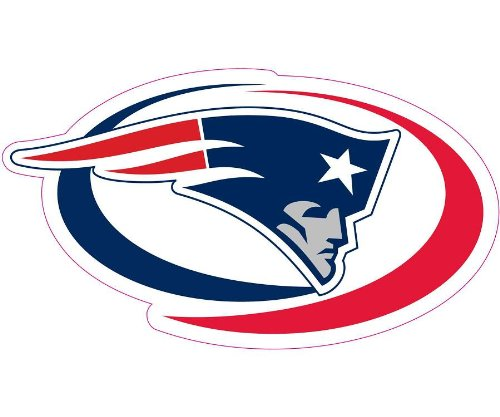 New england patriots car magnet decal 12 inch vehicles for New england motor car
