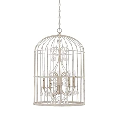 Jeremiah Lighting 38425 Ivybridge 5 Light Cage Chandelier - 20 Inches Wide,