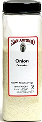 18-Ounce Restaurant Onion Granules - (Ground Granulated Onion Powder)