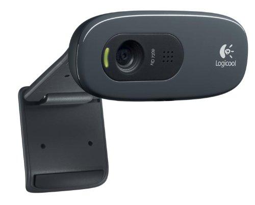 LOGICOOL ウェブカム HD画質 120万画素 ヘッドセット付 C270m
