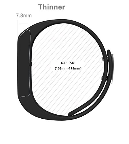 Fitness Tracker – Iwown I5 Plus Touch Screen Bluetooth Smart Bracelet Sports Wristband