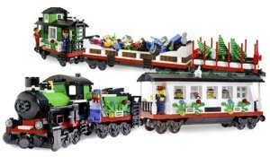 LEGO ( LEGO ) Make u0026 Create Holiday Train: 965 pcs block toys ( parallel imports )