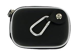 rooCASE EVA Hard Shell (Black) Carrying Case with Memory Foam for Sony Cyber-shot Digital Camera DSC-TX20 TX66 TX200V WX50 WX70 WX150 W610 W620 W650 W690