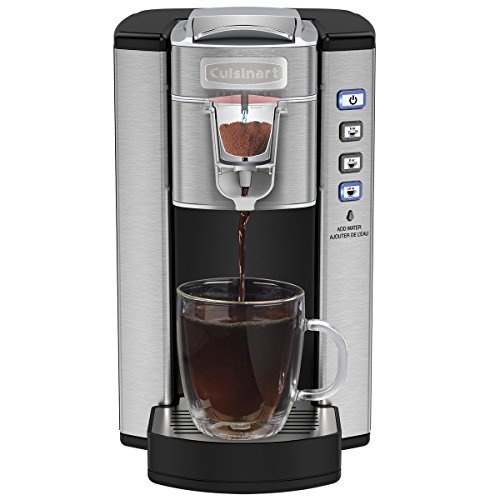 CUISINART-Compact-Single-Serve-Coffeemaker-Stainless-Steel